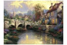 Puzzle - La podul cel vechi, 1000 piese