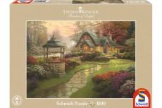 Puzzle - Casa cu Fântână, 1000 piese
