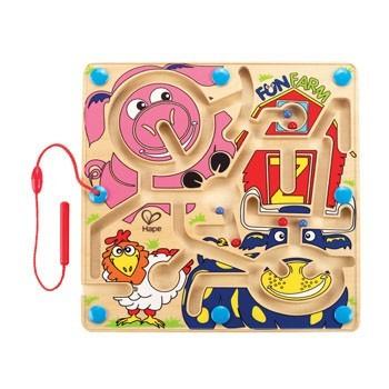 Labirint magnetic - Ferma distractivă - Hape 1