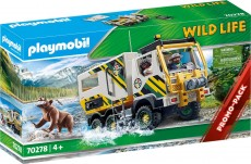 Camion de expeditie in natura - PLAYMOBIL Wild Life - PM70278