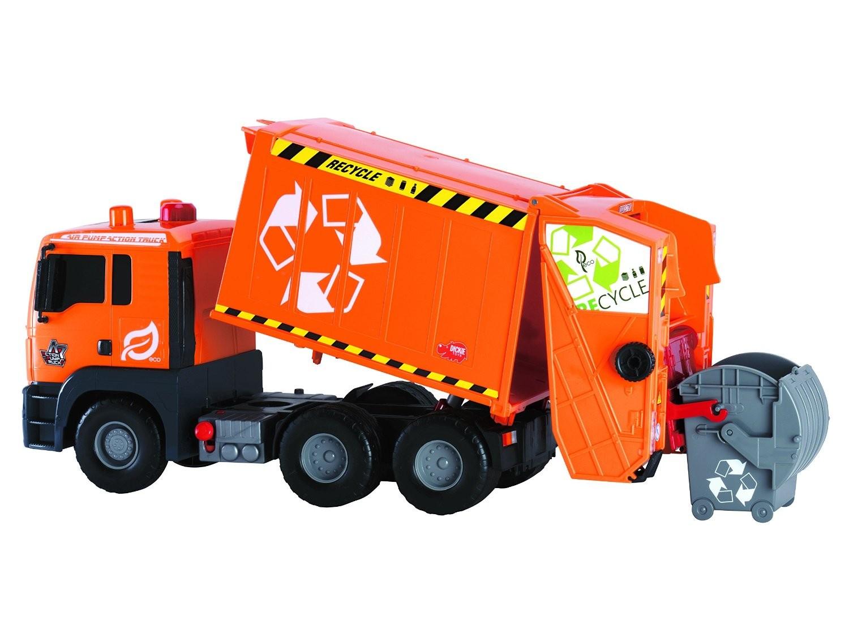 Camion de gunoi cu lumini si sunete - Dickie Toys 2
