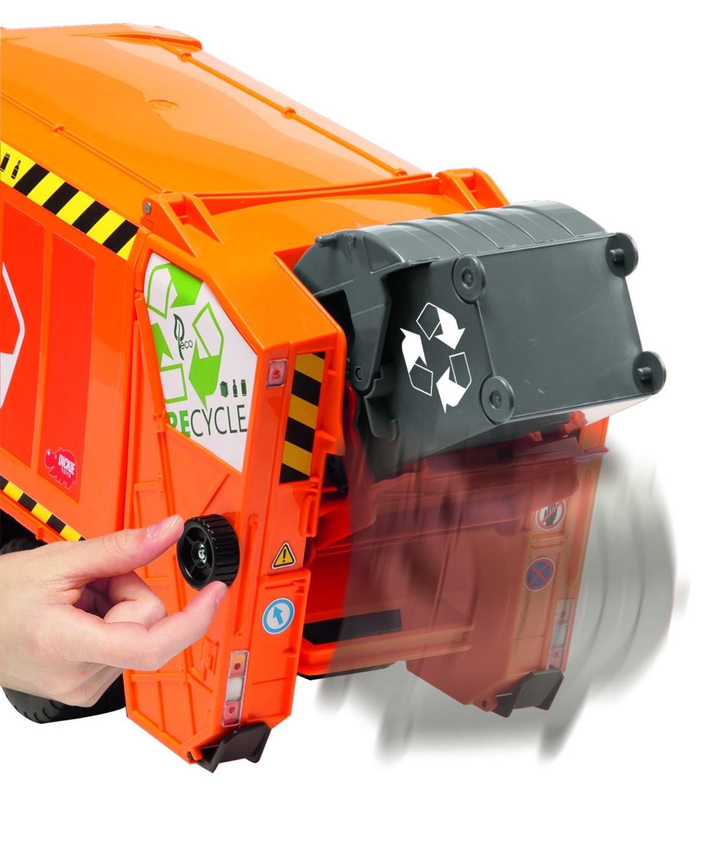 Camion de gunoi cu lumini si sunete - Dickie Toys 3