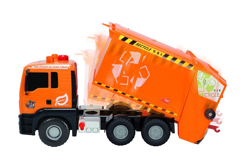 Camion de gunoi cu lumini si sunete - Dickie Toys 4