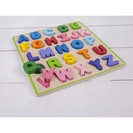 Puzzle colorat - Alfabet - Bigjigs 2
