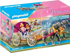 Trasura Cu Print Si Printesa - PLAYMOBIL Princess - PM70449