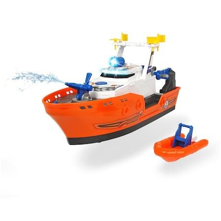 Vapor de salvare cu șalupă, cu sunete și lumini - Dickie Toys 3