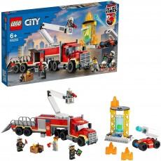 Unitatea de comanda al pompierilor (60282) - LEGO City