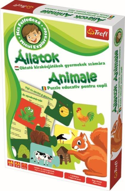 Micul explorator - Animale - Joc educativ - Trefl 1