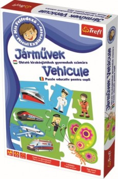 Micul explorator - Vehicule - Joc educativ