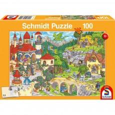 Puzzle - A Fairytale Kingdom - 100 de piese
