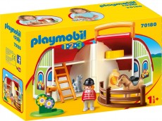 Set mobiL ferma - PLAYMOBIL 1.2.3. - PM70180